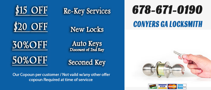 install new locks Conyers GA